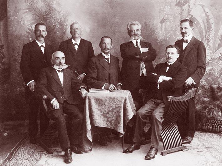 Obergrund_Vorstand1917